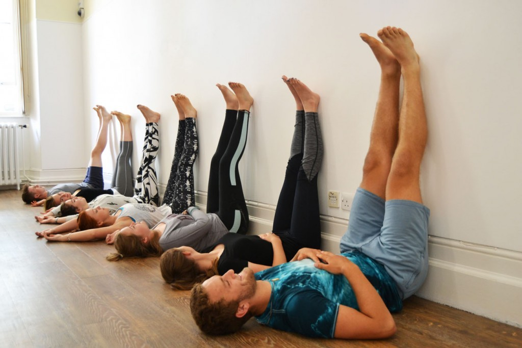 stroud yoga legs up the wall